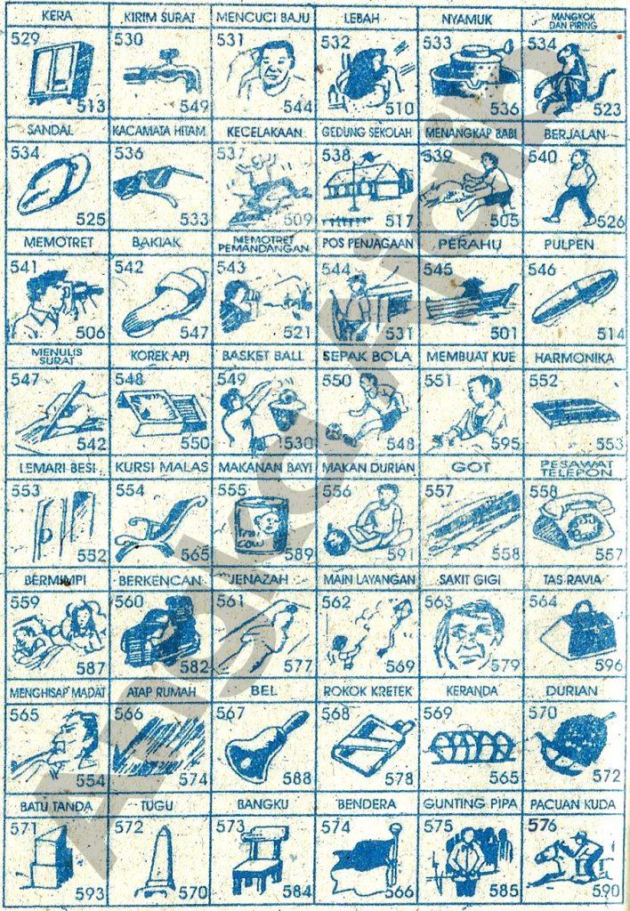 Tafsir Mimpi 3D Bergambar, Buku Mimpi 3D Bergambar, Buku Erek Erek 3D Lengkap  529 576