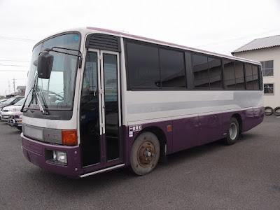 19507T4N7 1989 Mitsubishi Fuso Bus