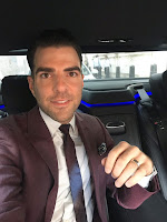 Zachary Quinto (Maybe) Clears Up Those Engagement Rumors, Explains Mystery Ring on That Finger