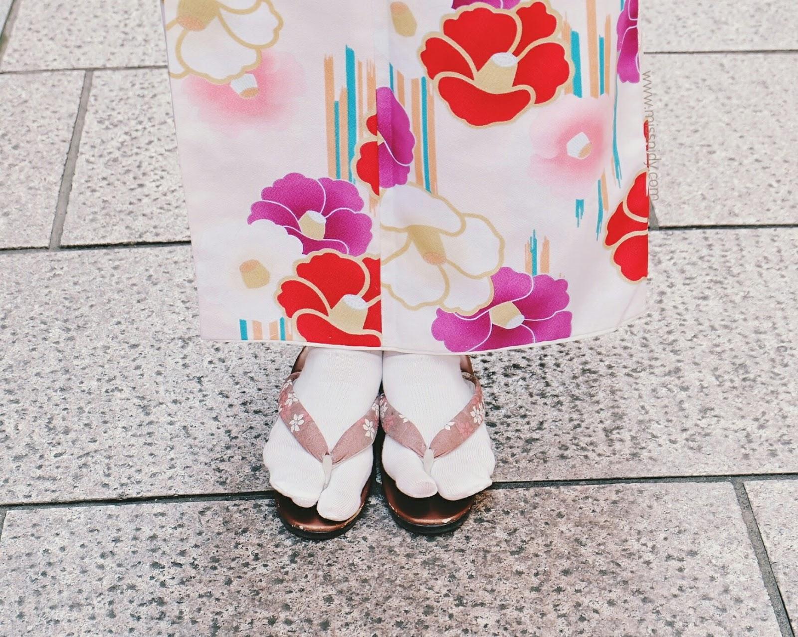pengalaman rental kimono di jepang