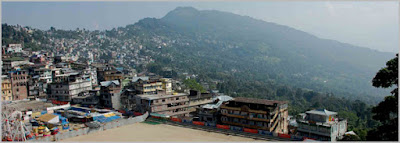 Kalimpong town view