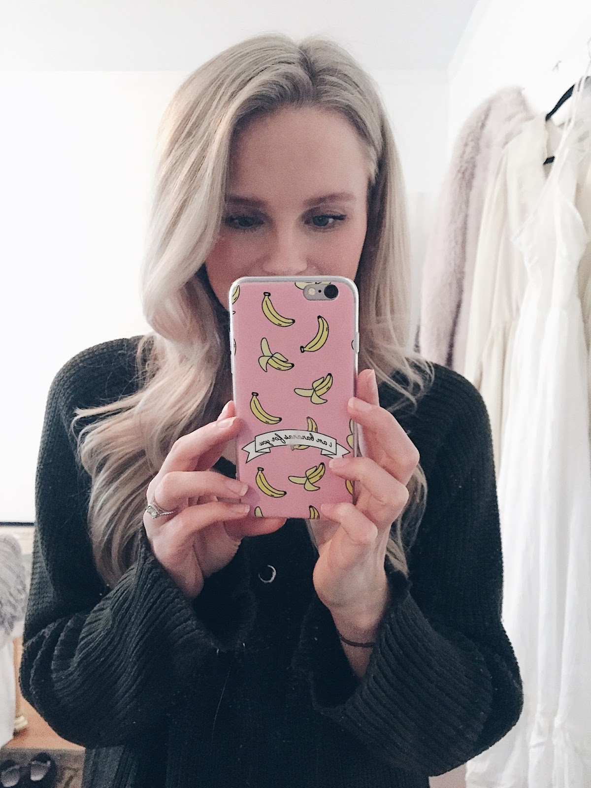 cute pink iPhone case