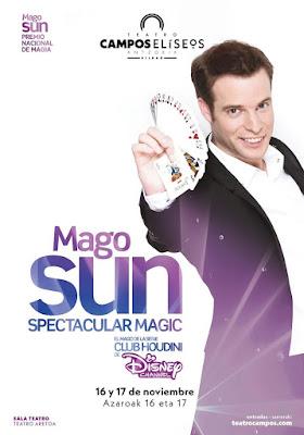 Mago Sun Teatro Campos Bilbao
