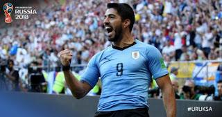 Uruguay vs Arab Saudi 1-0 Video Gol