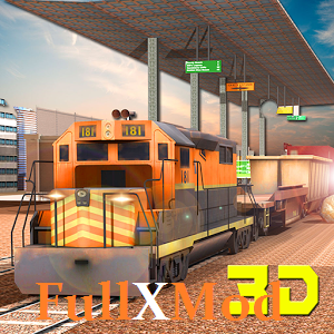 Train Cargo Crane Simulator 3D Full Version