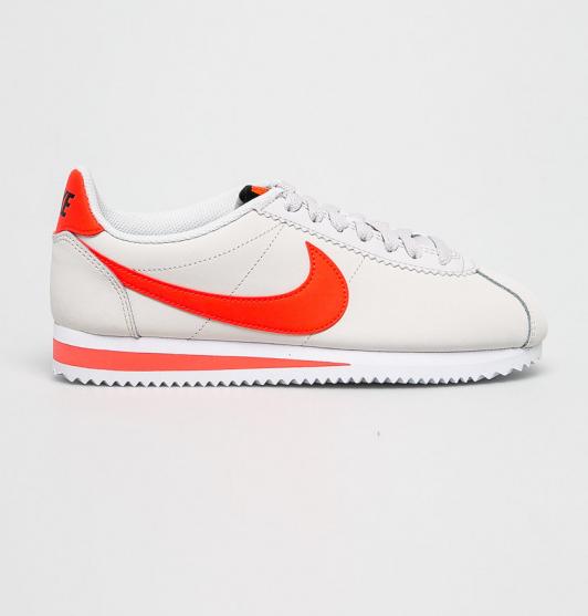 Nike - Pantofi sport dama albi Classic Cortez originali