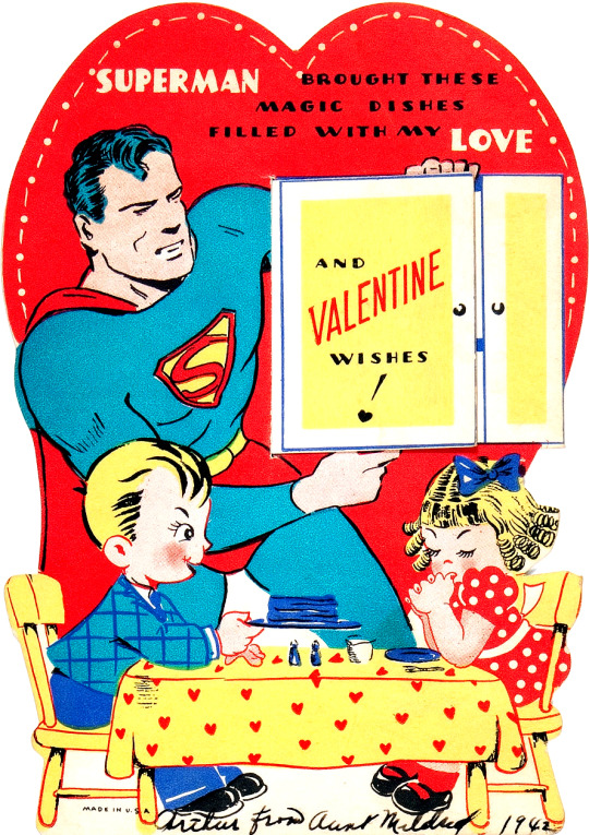 VALENTINES WITH SUPERMAN, WONDER WOMAN U0026 A BATMAN KNOCKOFF