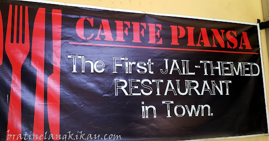 Bratinelang Kikay: Caffe' Piansa, The First Jail-Themed Restaurant in Manila