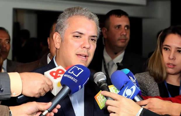 Duque, partidario de demandar a Maduro ante la Corte Penal Internacional