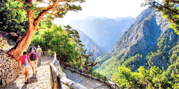Trekking gole di Samaria a Creta