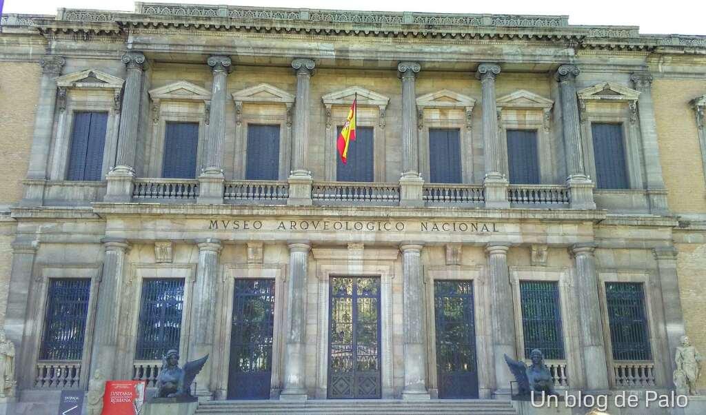 Fachada del Museo Arqueológico Nacional (MAN)