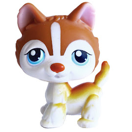 Littlest Pet Shop 3-pack Scenery Husky (#341) Pet