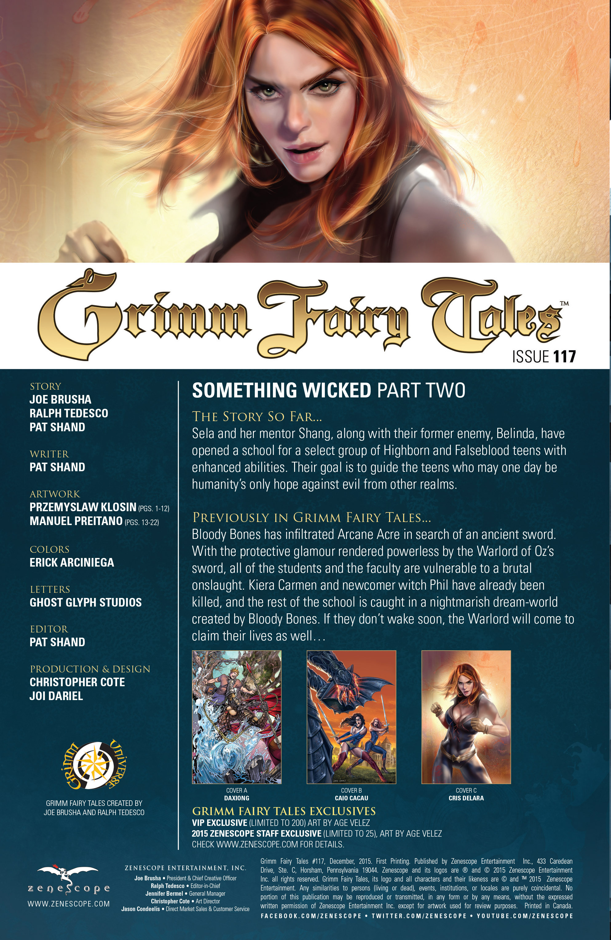 Comic Grimm Fairy Tales (2005) issue 120