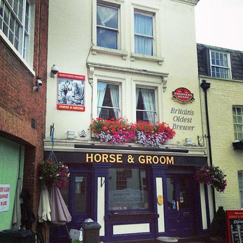 Horse & Groom Belgravia London UK