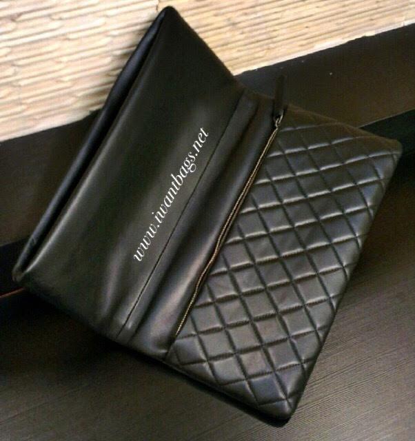 3184b1c4690f I Want Bags backup: BOY CHANEL Folded Pouch-Black