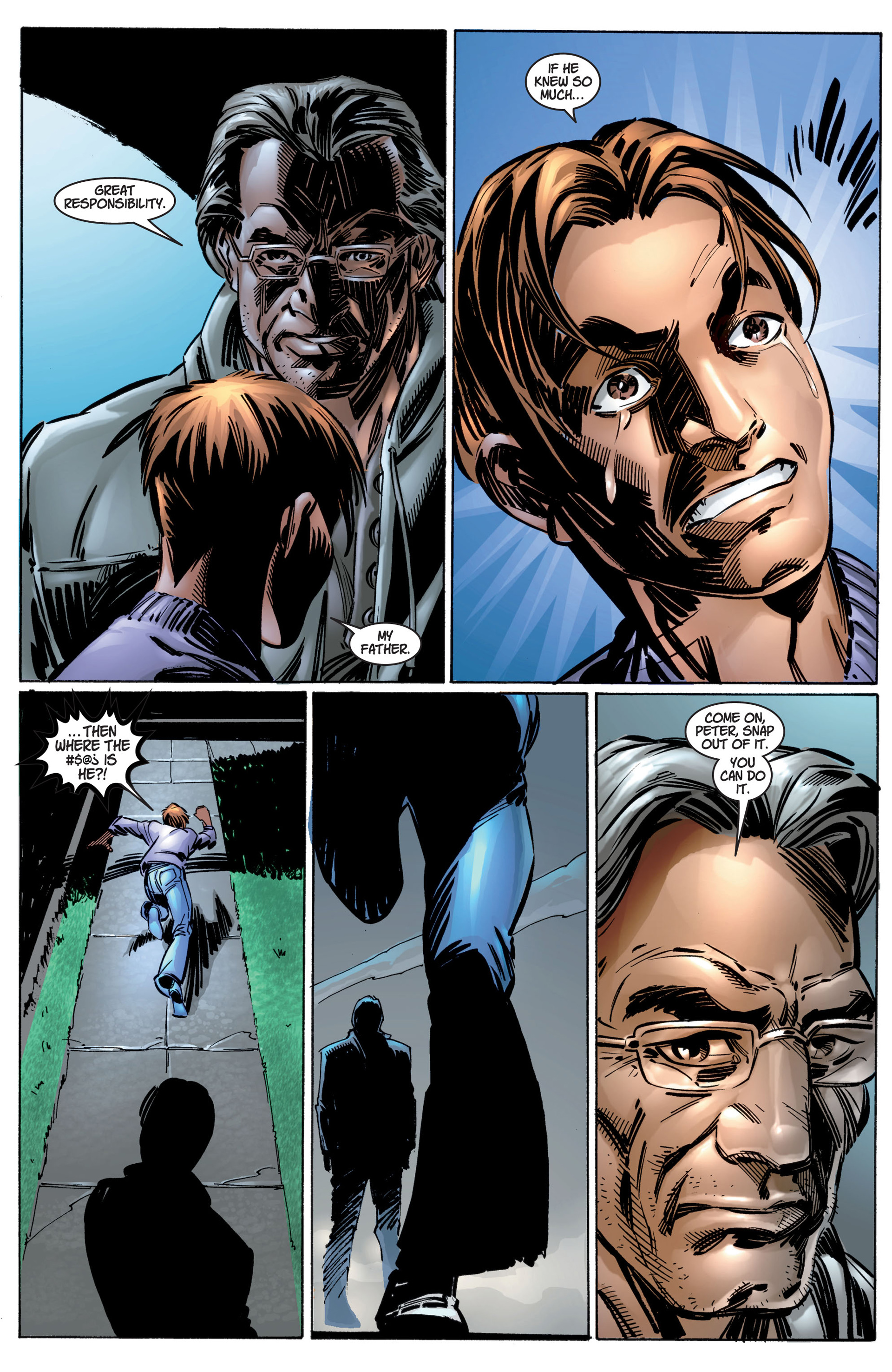 Read online Ultimate Spider-Man (2000) comic -  Issue #4 - 19