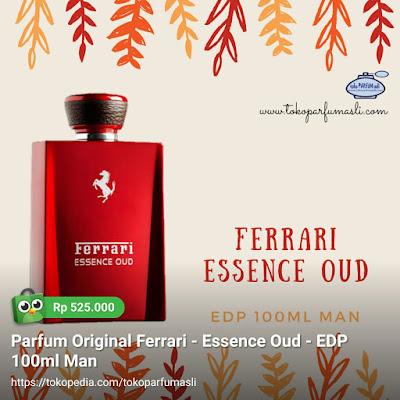 toko parfum asli parfum original ferrari essence oud edp 100ml man