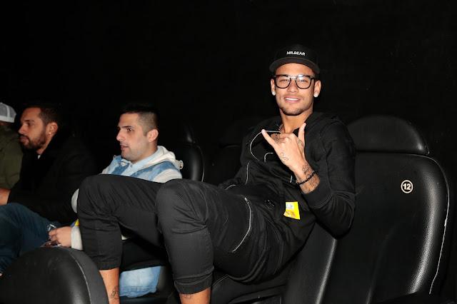 Neymar Bruna Marquesine cinema Cultura Sampa