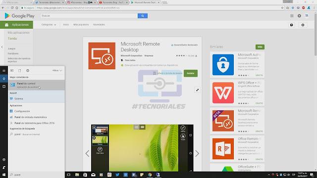 Inicio Windows 10