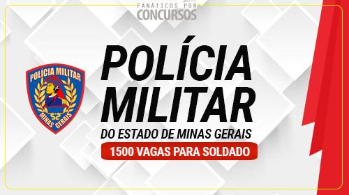 Concurso para Soldado da PM - MG