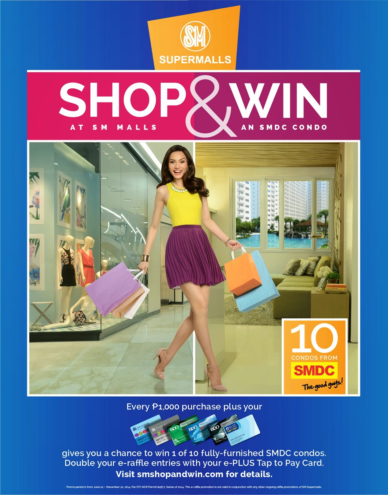 SM Supermalls Shop and Win Promo
