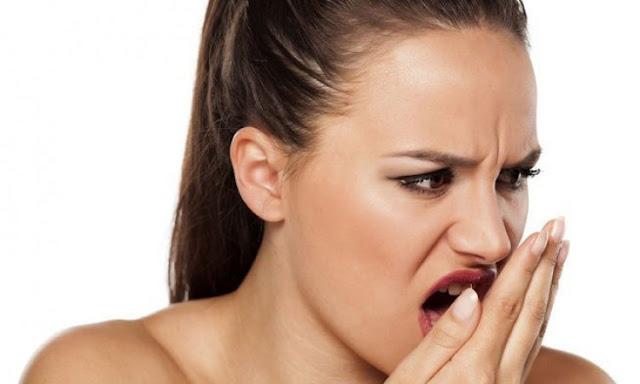 bau mulut saat sedang puasa