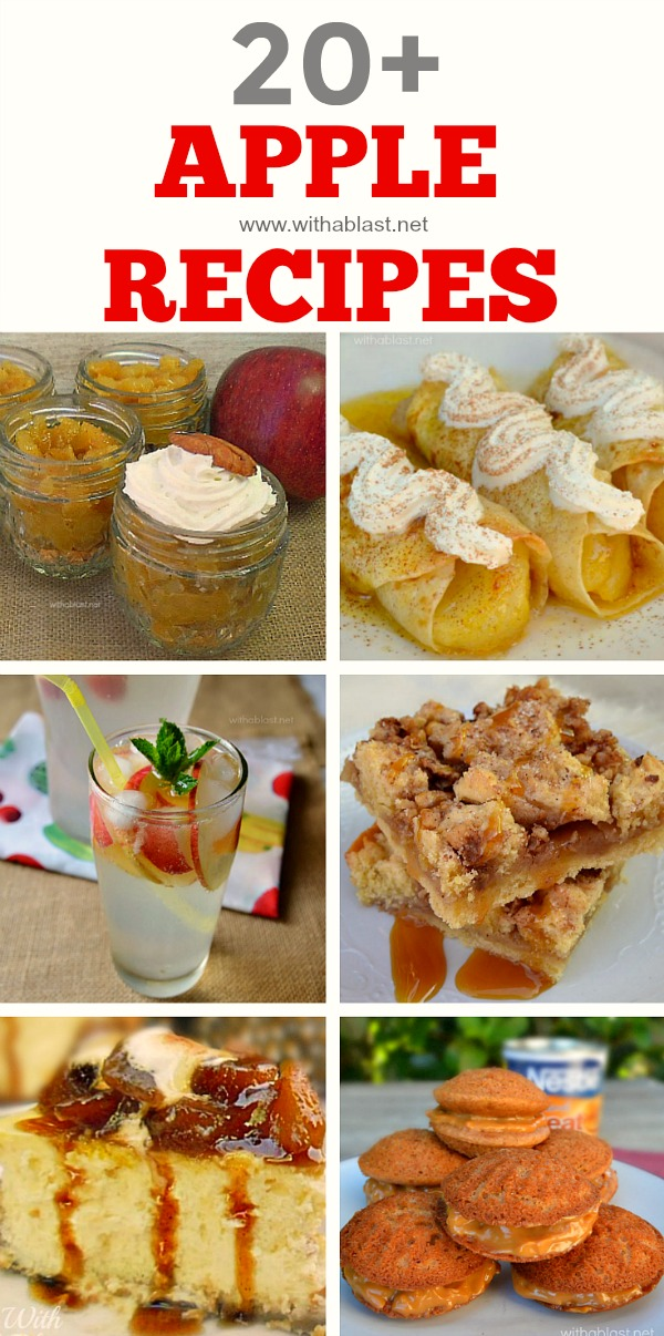 all-things Apple - from Milkshakes to Desserts to Mains and all the in betweens !
