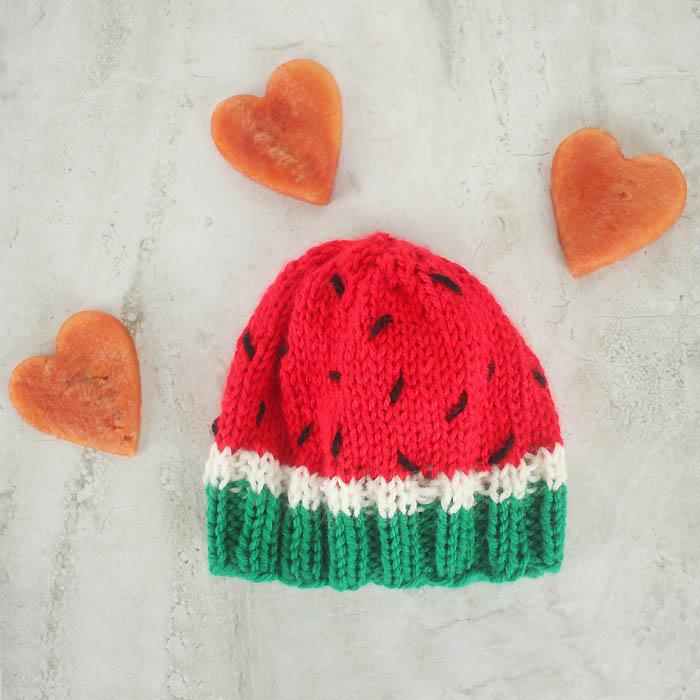 Baby Watermelon Hat Free Knitting Pattern Gina Michele Bloglovin