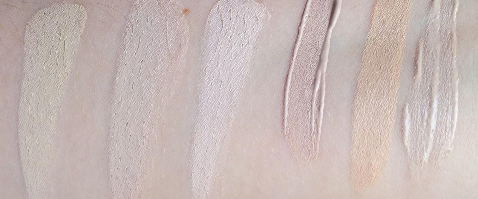 Concealer für trockene Haut SWATCHES