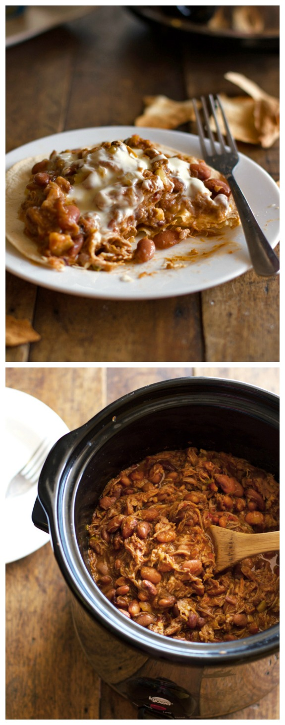 Crockpot Chalupas from Pinch of Yum found on SlowCookerFromScratch.com