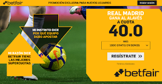 betfair supercuota Real Madrid gana Alaves 3 febrero 2019