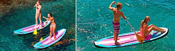Naish Alana Air SUP Board and Paddle