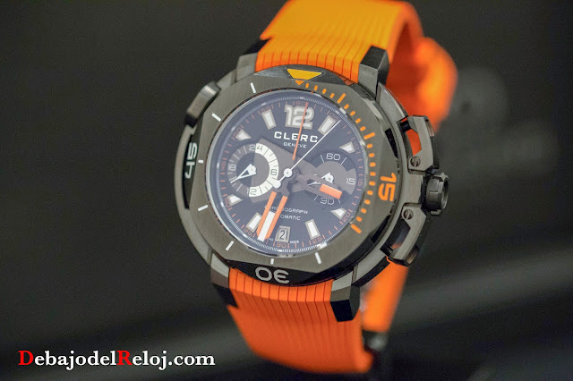 Clerc Hydroscaph Central Chronograph1