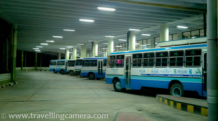 Buses from Delhi to Shimla :   1. HRTC (Himachal Road Transport corporation) buses start from ISBT Kashmiri Gate and can be booked through HRTC website as well as Redbus website.     2. Haryana and Delhi transportation also have buses from Delhi to Shimla. They also start from Kashmiri gate. Advanced booking is preferred but if you don't have a booking, go to Kashmiri gate and you should be able to get a seat. In worst case, take a bus to Chandigarh and then take connecting bus from Chandigarh to Shimla.