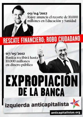 Resultado de imagen de españa banca corrupta nacionalizacion