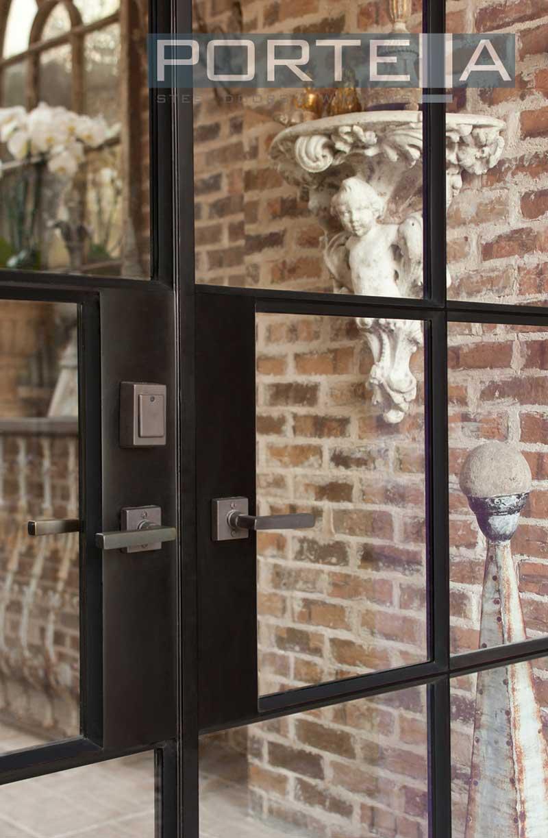portella custom steel doors and windows. Black Bedroom Furniture Sets. Home Design Ideas