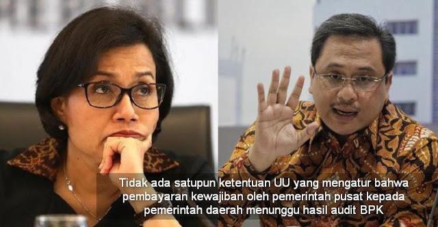 'Bela' Anies, Ketua BPK 'Tampar' Sri Mulyani: Bayar DBH ke DKI Gak Perlu Nunggu Audit