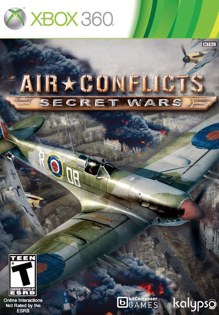 Air Conflicts Secret Wars - Xbox 360 - Multi5 - Portada
