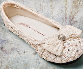 Gorgeous Flat Ivory Wedding Shoes