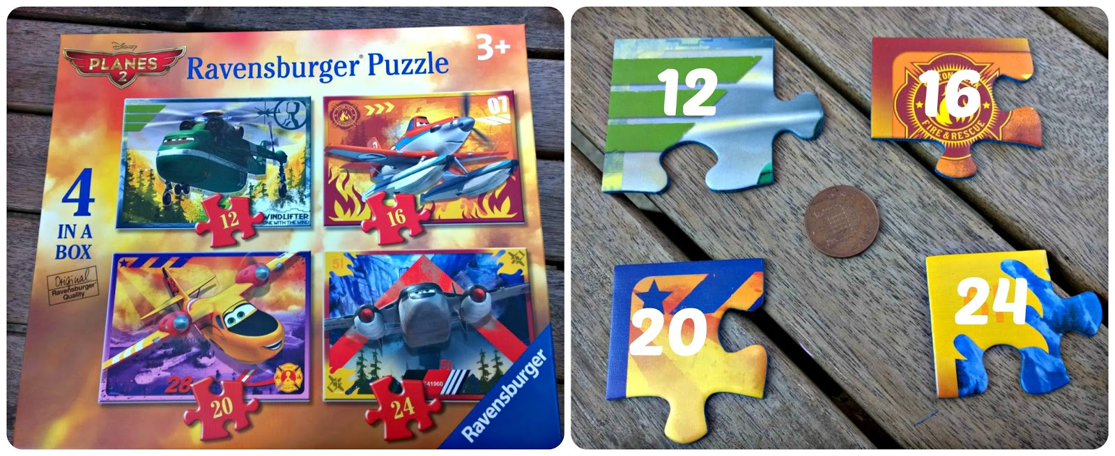 Disney Planes 2: Fire and Rescue 4 in a box Jigsaw Puzzle from Ravensburger