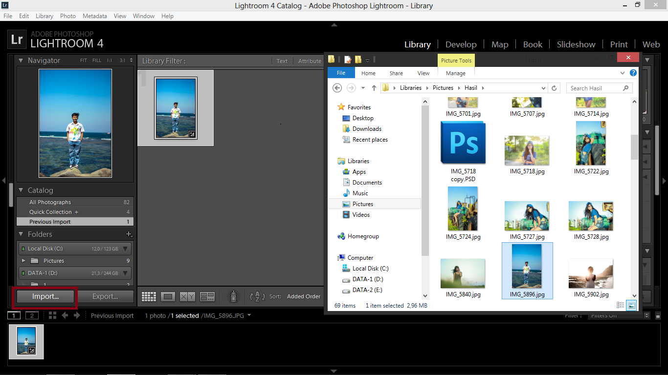 Cara Mudah Menggunakan Adobe Lightroom ~ Recent Notification