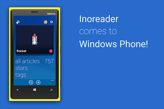 Inoreader for Windows Phone is out!