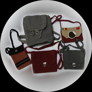 Tas Rajut (Knitwear Bag) Backpack, Cross Bag, Field Bag, Mini Bag, Sling Bag, Tote Bag