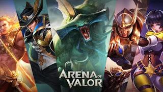 [Update] Kumpulan Arena Of Valor Server Taiwan, Vietnam, Thailand, Eropa, Dll