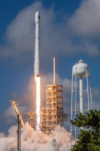 SpaceX lança mininave espacial secreta da força aérea americana