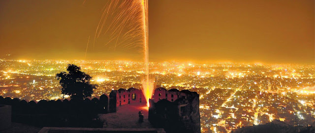 Nahargarh-Fort-in-jaipur-in-night