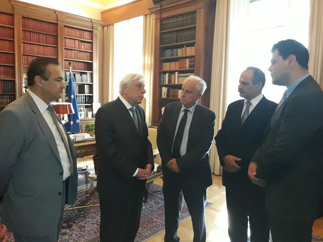 Τον Πρόεδρο της Δημοκρατίας επισκέφθηκε η ΔΙ.ΣΥ.Π.Ε.
