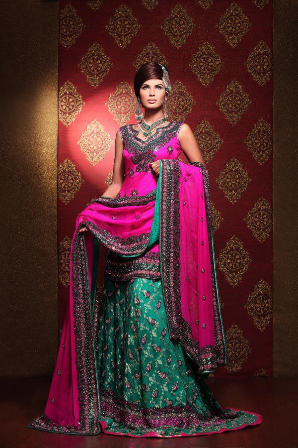 Gorgeous Latest Bridal Lehengas Collection 2013 For Women V Luv Fash On