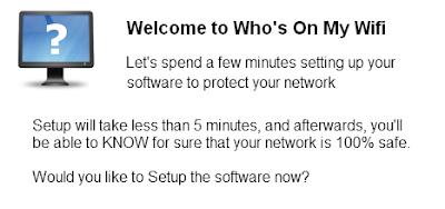 Whos On My Wifi برنامج كشف الأجهزة المتصلة على الشبكة