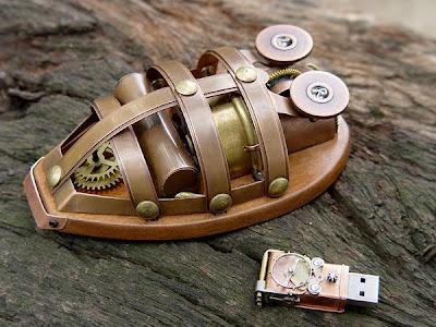 mouse al mas puro estilo steampunk.